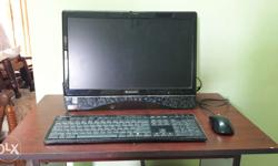 Lenovo all in one desktop 2gb Ram 320 Gb Hard