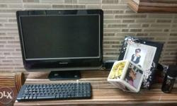 lenovo ALL in one PC next to showroom condition in 5