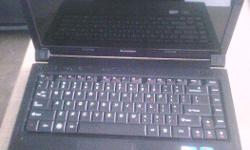 lenovo b460e laptop, intel dual core, 3gb ram /320gb