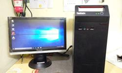 Lenovo branded system sell 3month warranty . 500gb hdd