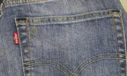 Levi's Blue Denim Jeans