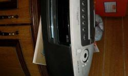 lg 3 in 1 DVD radio cassette player