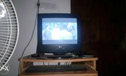 Lg Crt Monitor With Good Working Condition