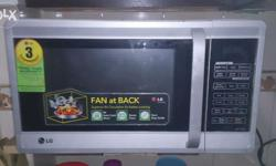LG Microwave in an excellent condition very less used