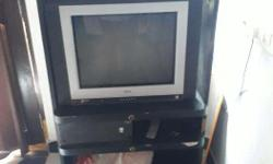 Lg Tv Along With Tv Table And Hoopers. Available At