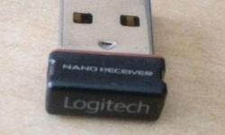 I have one new logitech nano receiver , good condition,