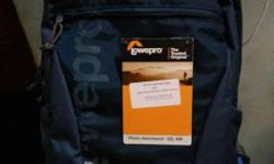lowepro photo hatchback 22L AW new one didn't even used