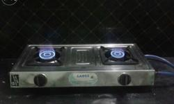 In Good & running condition. ..two burner Gas stove,