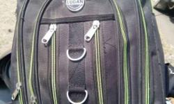 Ludan Black Backpack