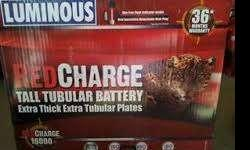 Luminous Red Charge 18000/150AH Tall Tubular Battery -
