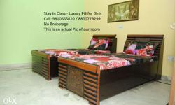 Fully Furnished a/c rooms with food available for girls