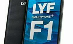 Lyf water f1 (3GB RAM) with warranty 2months use only