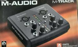 It is double mic sound card we can atteched midi like