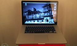 MacBook Pro (15-inches) OS X version 10.9.5 2 GHz intel