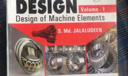 Machine Design Volume 1 By Md. Jalaludeen
