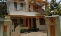 madanada 50m from NH 5 1/2 cent 2200 sqft house 95 lak