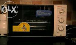 Maharaja White-line OTG (Oven Toaster Grill), used but
