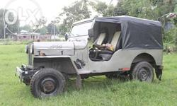 Mahindra jeep for sale, 4*4 drive, open type body,
