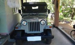 Mahindra jeep two weel drive five yeres tax full cover