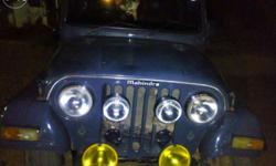 Im selling my mahindra marshal jeep.reasently engine