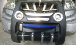 Mahindra Xuv500 front bumper nudge guard bought it for