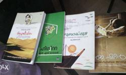 Used but good condition malayalam novels for reasonable