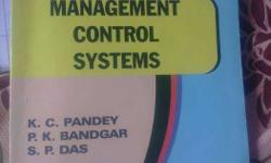 Management Control Systems K.C Pandey P K Bandgar And S