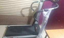manual treadmill newly brought 2 n half month old..