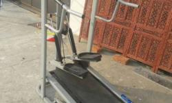 manual treadmill. rarely used. fully working condition.