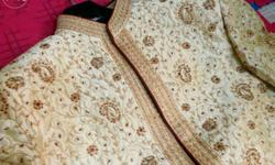 Manyavar Sherwani, used only once. Good as new in very