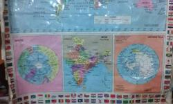 Good condition full world map