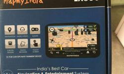 GPS map my india with complete accessories lx350