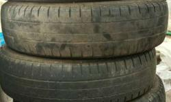 Maruthi Swift dzire 4 old tyres sale for low cost and
