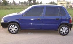 MARUTHI ZEN-LX 1997 MODEL,BLUE COLOUR, A/C,LEATHER