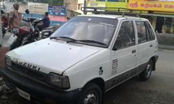 Maruti 800 Dx 2001 model , 3rd owner,
