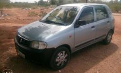 Maruti alto lxi with lpg super car good engine power