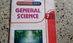 master key of general science std 7th in good condition