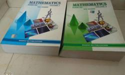 Latest version of Mathematics RD Sharma volume 1 and 2