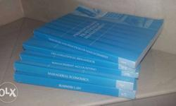 MBA (HR) books of 4 semester from symbosis university