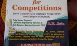 Mechanical Engineering For Competitions By R.K. Jain
