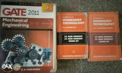Mechanical engineering books gate 2011 and