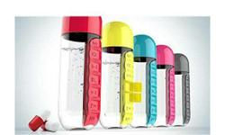 medice organizer with bottle
