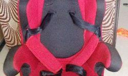 2 years, Red Colour Mee Mee Brand Baby Car Seat in very