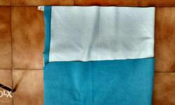 Colour- Light Blue Breathable waterproof bed protector