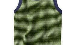We manufacture cotton knitted fabric Tank tops which