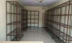 Total 6 racks are there and each rack cost rs 3500 /-