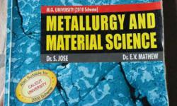 Metallurgy And Material Science Book