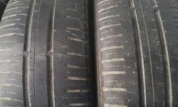 Ihave a185/70/14 set of 2 tubeless michlin tyres