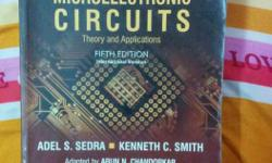 Microelectronics circuit by sedra and smith is in