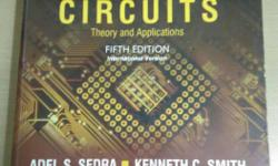 microelectronics circuits by Sedra and smith